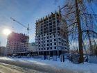 Ход строительства дома № 1 первый пусковой комплекс в ЖК Маяковский Парк - фото 42, Март 2021