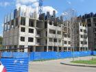 Ход строительства дома № 3 (по генплану) в ЖК На Вятской - фото 48, Август 2016
