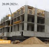 Ход строительства дома № 22 в ЖК Новая Кузнечиха -