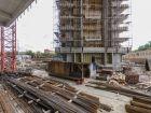 Ход строительства дома Литер 1 в ЖК Первый - фото 72, Сентябрь 2018