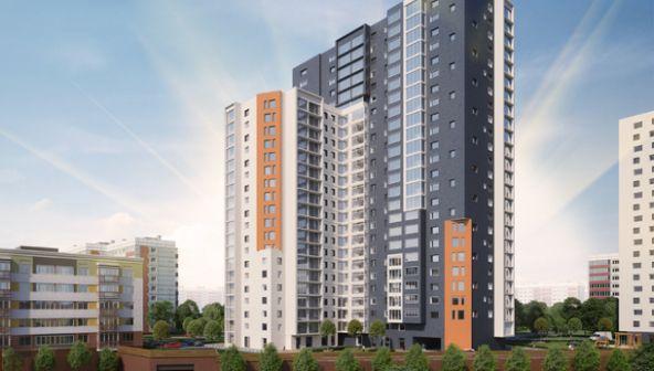 В ЖК «Солнечный» началось строительство высотного дома «Гелиос»