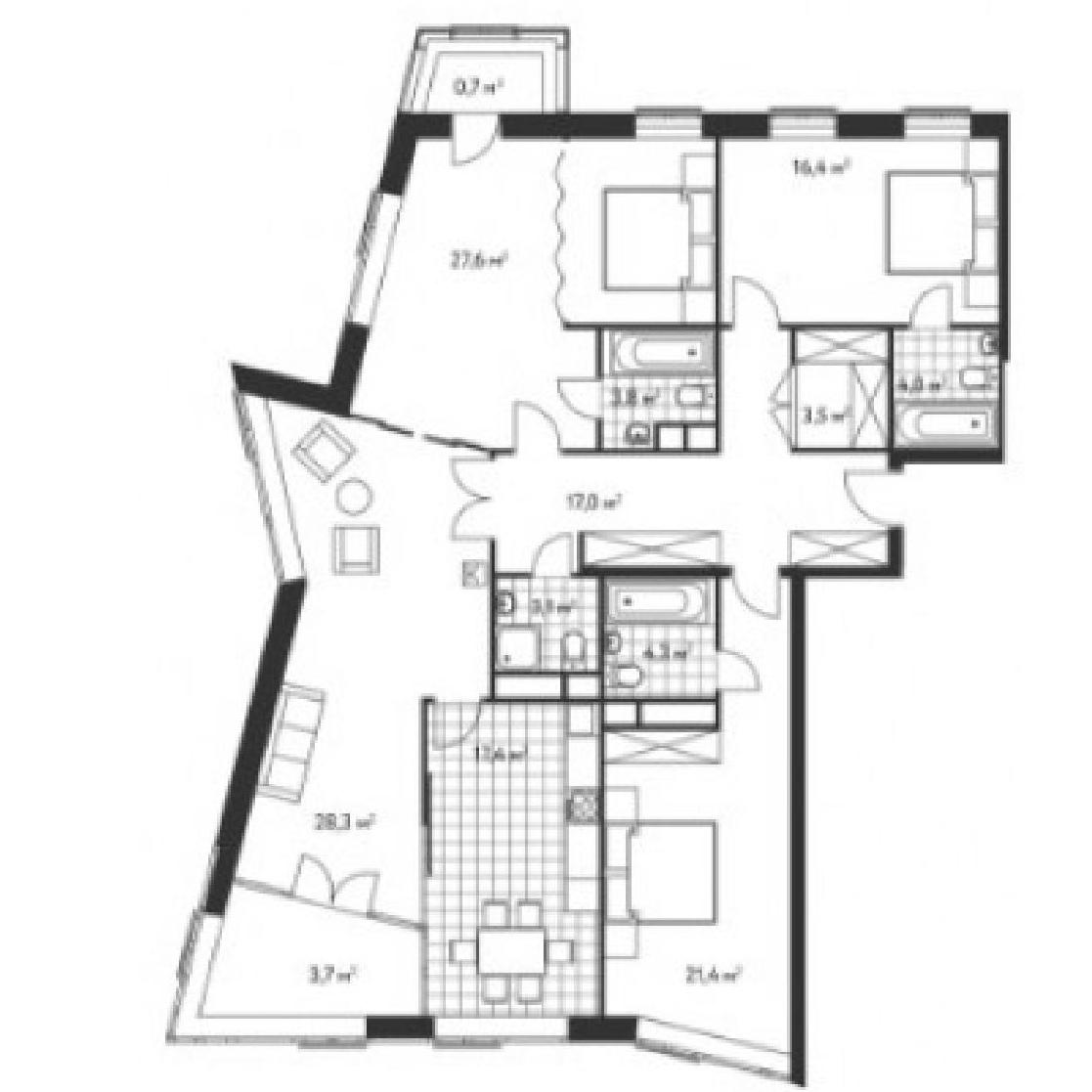 Топ-10 неудачных планировок квартир в новостройках - фото 10