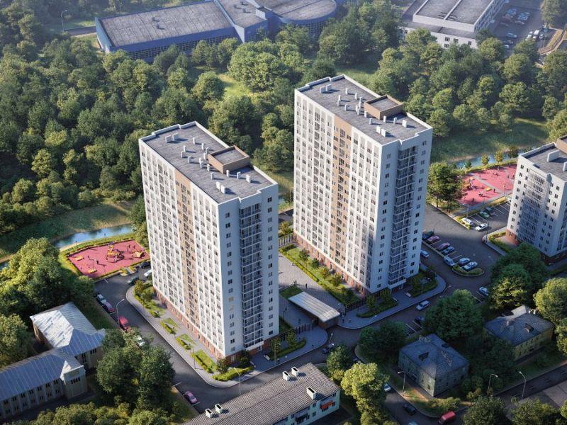 однокомнатная квартира в новостройке на улице Героя Советского Союза Сафронова