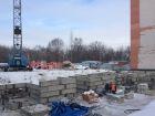 Ход строительства дома № 67 в ЖК Рубин - фото 100, Февраль 2015