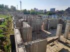 Ход строительства дома № 38 в ЖК Три Сквера (3 Сквера) - фото 56, Август 2020