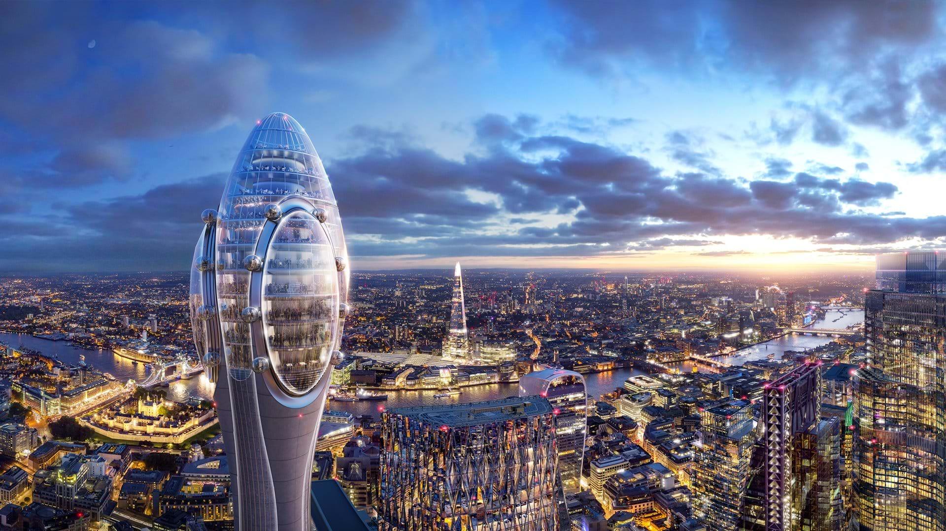 «Тюльпан»: новая культурная и туристическая достопримечательность Лондона - фото 2