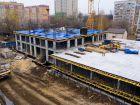 Ход строительства дома № 1 первый пусковой комплекс в ЖК Маяковский Парк - фото 72, Октябрь 2020