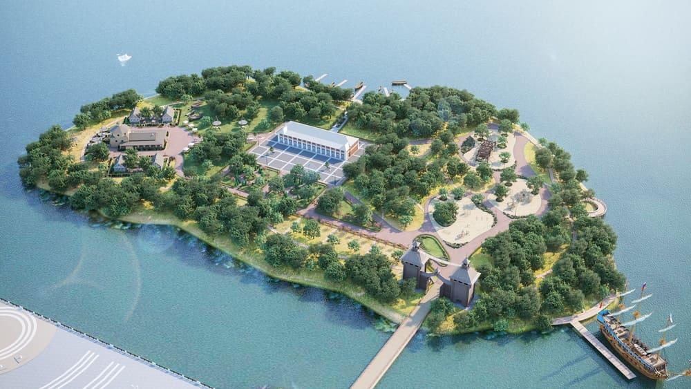 Парк «Петровский остров» - фото 1
