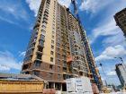 Ход строительства дома Литер 1 в ЖК Династия - фото 13, Июнь 2020