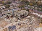 Ход строительства дома Литер 9 в ЖК Звезда Столицы - фото 50, Октябрь 2019