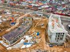 Ход строительства дома № 5 в ЖК Ватсон - фото 35, Апрель 2021