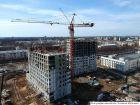 Ход строительства дома № 7 в ЖК Планетарий - фото 24, Апрель 2018