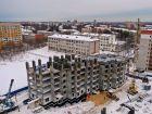 Дом на Чаадаева - ход строительства, фото 52, Февраль 2019